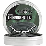 【 磁石に反応する!シリコン製パティ 】 Crazy Aaron's Putty World シンキングパティ スーパー マグネット シリーズ EU安全規格適合 内容量90g レギュラーサイズ Made in USA 日本正規代理店品 【 ストレンジ