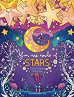 You Are Made of Stars: Inspirational Quotes Adult Coloring Book (Coloring Books for Women and Girls) [並行輸入品]