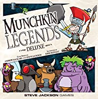 Munchkin Legends Deluxe Card And Board Game