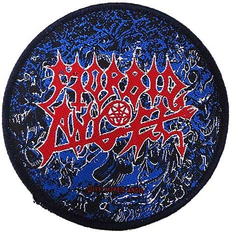 【MORBID ANGEL】ALTARS OF MADNESS 刺繍パッチ モービッドエンジェル オフィシャルバンドワッペン