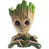Flowerpot Treeman Baby Groot Succulent Planter Cute Green Plants Flower Pot(Love)