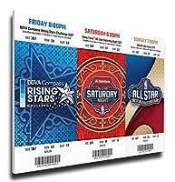 2017年NBAオールスター週末メガチケットストリップ–New Orleans