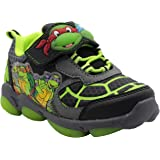Teenage Mutant Ninja Turtles Toddler Boys' Light Up Athletic Shoe (12)