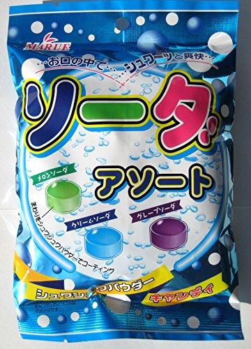マルエ製菓 マルエ ソーダアソート 100g [5081]