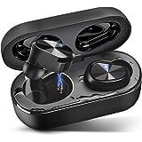 Wireless Earbuds Bluetooth 5.0 Headphones IPX7 Waterproof TWS Stereo Headphones in Ear Built in Mic Headset Premium Sound wit
