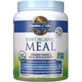 Garden of Life Raw Organic Meal Replacement Powder - Vanilla, 14 Servings, 20g Plant Based Protein Powder, Superfoods, Greens