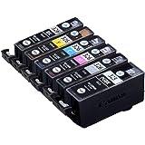 【Amazon限定ブランド】レイワインク キヤノン(CANON) BCI-326+325/6MP 対応 6色セット リサイクルインク 日本製JIT-NC3253266P