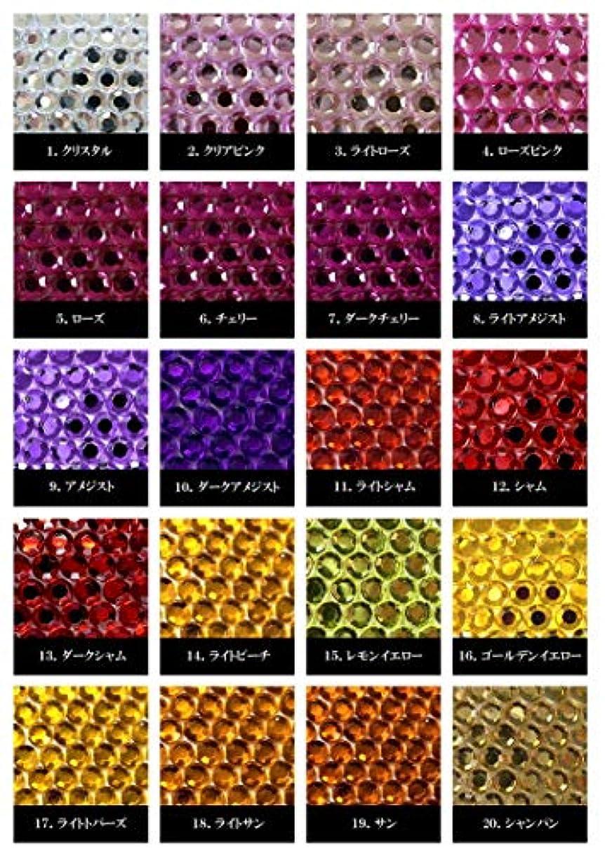語グッゲンハイム美術館アンビエントアクリル製ラインストーン ダイヤカット型6mm~10mm(1) (10mm(50), シャム)
