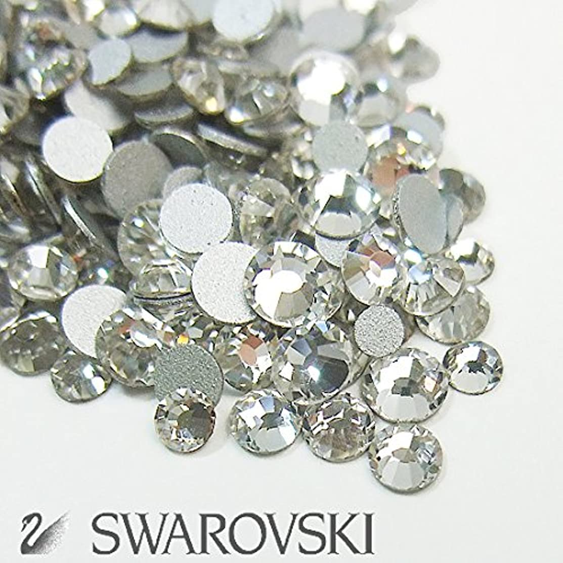 ペグ人形戸棚スワロフスキー(Swarovski) クリスタライズ ラインストーン ネイルサイズMIX (100粒) クリスタル