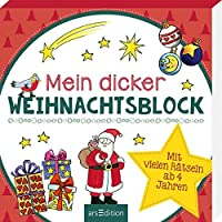 Mein dicker Weihnachtsblock: Mit vielen Raetseln ab 4 Jahren