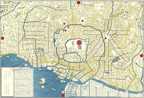 【和-edo】天保年間の江戸古地図を、すべて手描きで複製した、江戸古地図