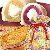 和菓子2品の詰め合わせ(紫色巾着)