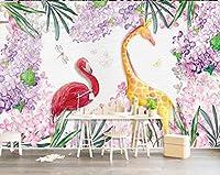 Mbwlkj 3D カスタムの寝室の壁紙の Handpainted 花子供のベッドルームのリビングルームの壁のペーパーの家の装飾の不織布のリビングルーム-150Cmx100Cm