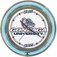 ゴンザガ大学ネオンクロック - 14インチ径