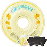 Swimava スイマーバ (ダックイエロー)【日本正規品】うきわ首リング&おしりふきのふた ポンテ