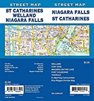 Niagara Falls/St. Catharines/Welland Ontario Street Map [並行輸入品]