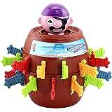Davcor Moring 海賊バケツ おもちゃ 子供 大人 卓上おもちゃ 海賊バレルゲーム ハロウィン 面白い 減圧玩具 教育玩具 知的ゲーム 素晴らしい パーティーゲーム 2~4人用 ギフト