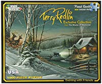 White Mountain Puzzles Evening with Friends - 1000 Piece Jigsaw Puzzle [並行輸入品]