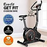 Everfit Exercise Bike Recumbent Elliptical Cross Upright Exercise Spin Bike