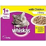 Whiskas Chicken in Gravy Variety Adult Wet Cat Food 12x85g