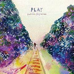 藤原さくら「play with me」のCDジャケット