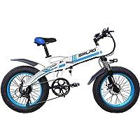 在庫処分!20インチ ファットバイク 20*4.0迫力の極太タイヤ 電動自転車 電動バイク 折りたたみ式 最大時速28キ…
