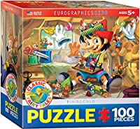 *eurographics Puzzle (mini)100pc - Pinocchio (6x6 Box)