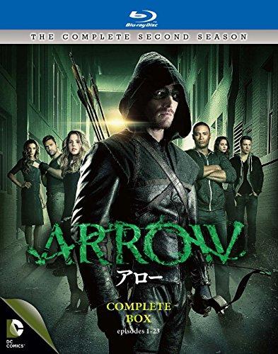ARROW / アロー <セカンド・シーズン> コンプリート・ボックス(4枚組) [Blu-ray]の詳細を見る