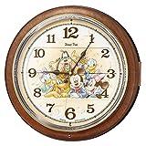 セイコー クロック 掛け時計 ミッキーマウス ミニーマウス 電波 アナログ からくり 6曲 メロディ ミッキー&フレンズ Disney Time ディ..