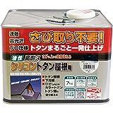 ニッペ 油性塗料 高耐久シリコントタン屋根用なす紺 7kg