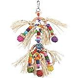 Kazoo Sisal and Balls Bird Toy,