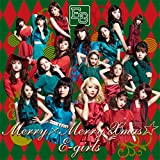 Merry×Merry Xmas★♪E-girlsのCDジャケット