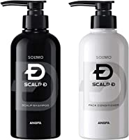 [Amazonブランド]SOLIMO スカルプD シャンプー 350ml & コンディショナー 350ml セット