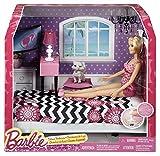 [バービー]Barbie Doll and Bedroom Furniture Set CFB60 [並行輸入品]