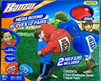 Banzai Mega Boxing Gloves with TWO Pairs of Gloves