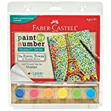 Faber-Castell PL14300 Paint by Number Museum Series The Eiffel Tower