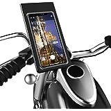Outangel バイク スマホホルダー オートバイ 防水バッグ に適用iphone android 多機種対応 防水…