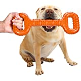 Feeko Dog Toys for Aggressive Chewers Large Breed 15 Inch Interactive Bone, Durable Indestructible Dog Toys with Convex Desig