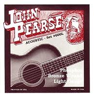 JohnPearse 600L アコースティックギター弦 フォスファーブロンズ ジョンピアース