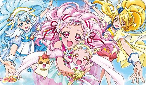 キャラクターラバーマット 『HUGっと!プリキュア』 HUGっと!プリキュアA (ENR-027)
