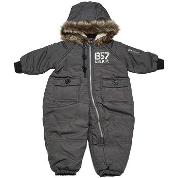 a735167d93fa5 ベビー キッズ スキーウェア 中綿ジャンプスーツ スノーコンビ アウター 防寒衣料 撥水加工 男の子