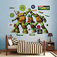 Fathead Teenage Mutant Ninja Turtles High Five Vinyl Decals [並行輸入品]
