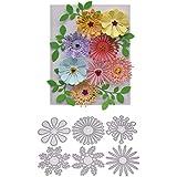 3D Flower Leaves Craft Die Metal Cutting Dies Scrapbooking Embossing Die Stencil Craft Stamps Dies Troqueles Card Makin