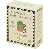 オーガニック コーヒー グッドモーニングブレンド ドリップ (有機 化学調味料無添加 砂糖不使用 100%天然 ブラウンシュガーファースト)
