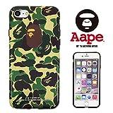 【 A BATHING APE 】 iPhone7 アイフォン7 対応ケース ア ベイシング エイプ ape010 [並行輸入品]