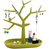 Bigood Colorful Tree Earring Necklace Bracelets Jewelry Stand Holders Hanging Organiser