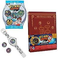 Yo-kai Watch Bundle INCLUDES Yo-kai Season 1 Watch Yo-kai Medallium Collection Book and Series 1 Medal Mystery Bag [並行輸入品]