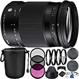 Sigma 18–300mm f / 3.5–6.3DCマクロOS HSM Contemporaryレンズfor Canon EFバンドルwithメーカーアクセサリー&アクセサリキット..