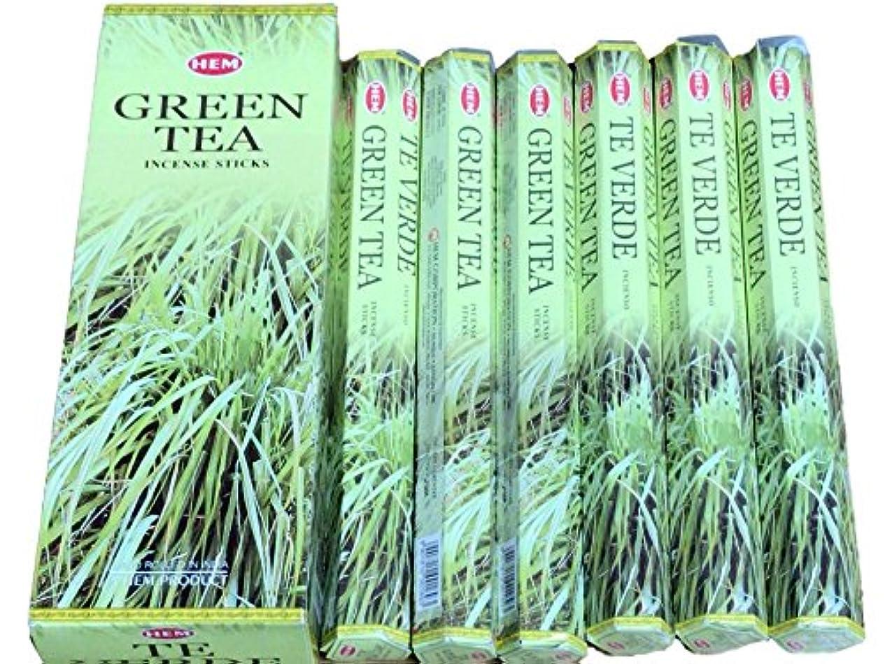 ヒステリック植物学者初期のHEM ヘム グリーンティー GREENTEA ステック お香 6本 セット