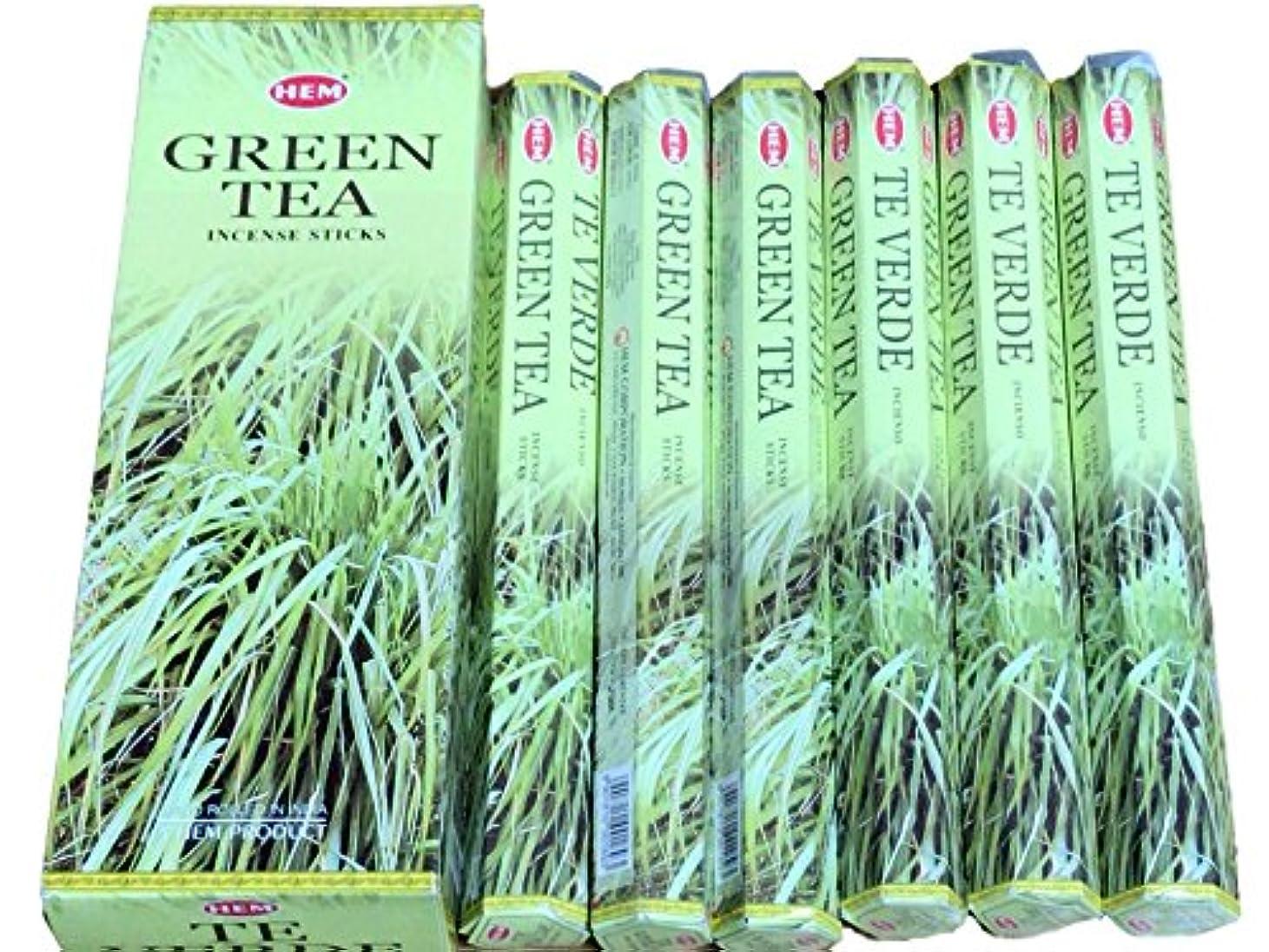 ジェームズダイソンゆりかご確認するHEM ヘム グリーンティー GREENTEA ステック お香 6本 セット